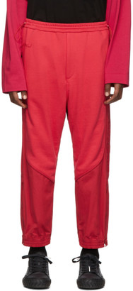Juun.J Red Plain Lounge Pants