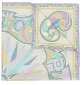 Emilio Pucci Women's Multicolor Silk Scarf.