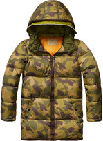 Scotch & Soda Quilted Down Coat