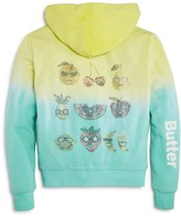 Butter Shoes Girls' Dip Dye Cool Fruits Hoodie - Little Kid