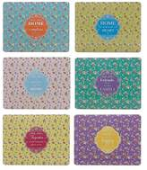 Maxwell & Williams Tranquility Placemat Set of 6 Assorted