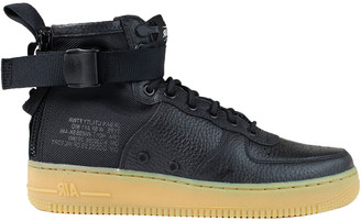 Nike Sf Air Force 1 Mid Leather Sneaker
