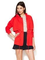 Marc by Marc Jacobs Rohe Hooded Combo Coat
