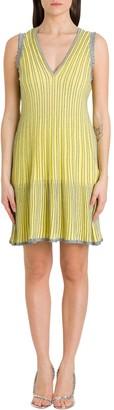 M Missoni V-Neck Dress