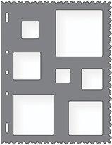 Fiskars 8.5x11 Inch Sheet Squares Shape Template (48527097F)