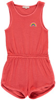 Hundred Pieces Rainbow Towelling Playsuit