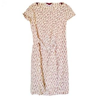 Les Petites Ecru Silk Dress for Women