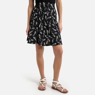 Naf Naf High Waist Full Skirt