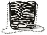 White House Black Market Zebra Haircalf Bag