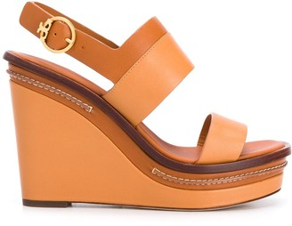 Tory Burch Selby 120 wedge sandals