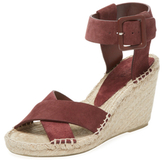 Vince Stefania Leather Espadrille Wedge
