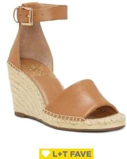 Vince Camuto Leera Espadrille Ankle-Strap Wedge Sandals