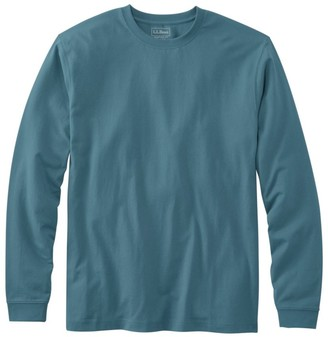 L.L. Bean Men's Carefree Unshrinkable Tee, Traditional Fit, Long-Sleeve