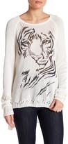 Lauren Moshi Tiger Knit Pullover