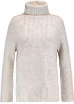 Line Uma Marled Ribbed-Knit Turtleneck Sweater