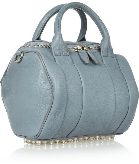 Alexander Wang Rockie textured-leather tote