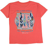 Itsa Girl Thing Big Girls 7-16 All Good Things Are Wild And Free Tee