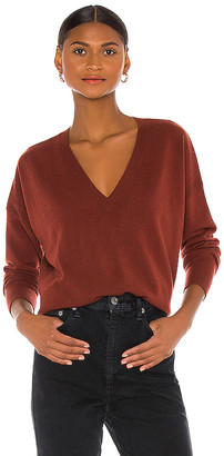 Autumn Cashmere Relaxed V Sweater