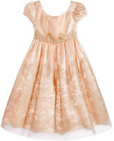 Bonnie Jean Mesh Party Dress, Toddler and Little Girls (2T-6X)