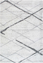 nuLoom Gray & Charcoal Abstract Stripe Rug