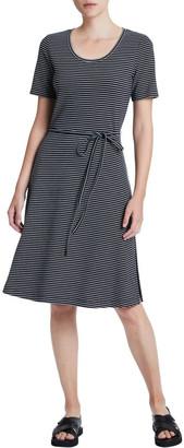 Marcs Ponte Stripe Dress