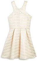 Sally Miller Girls' Shimmer Jacquard Dress - Big Kid