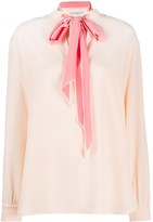 Thumbnail for your product : Givenchy Pussy-Bow Blouse