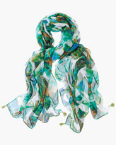 Chico's Leaf Luxe Scarf