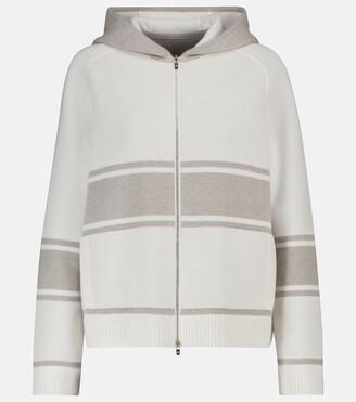 Loro Piana Thompson baby cashmere hoodie