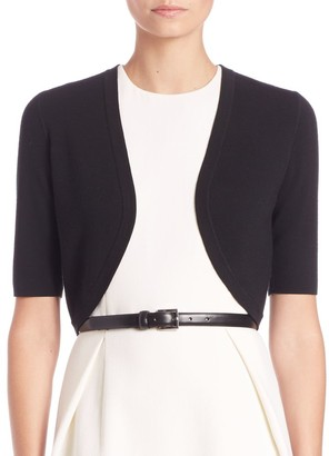 Michael Kors Merino Wool Cropped Shrug