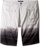 Sean John Men's Big and Tall Flight Short Dip Dye