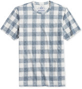 American Rag Men's Grid-Print T-Shirt, Only at Macy's