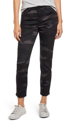 Wit & Wisdom Ab-Solution Camo High Waist Ankle Skinny Pants