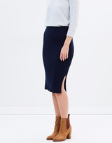Sportscraft Marilyn Rib Knit Skirt