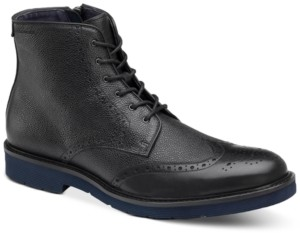 Johnston & Murphy Men's Kinley Wingtip Boots Men's Shoes