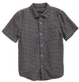 Treasure & Bond Check Pattern Woven Shirt