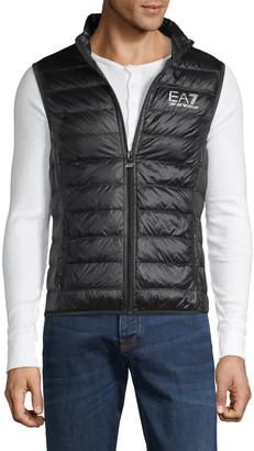 Emporio Armani Ea7 Quilted Down-Filled Vest