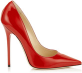 Jimmy Choo ANOUK Red Patent Pointy Toe Pumps