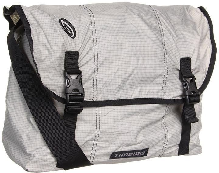 Timbuk2 Hidden Messenger (Cement/Gunmetal) - Bags and Luggage