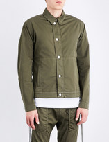 Helmut Lang Laced-sides stretch-cotton twill jacket