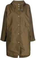 Fay Hooded Raincoat