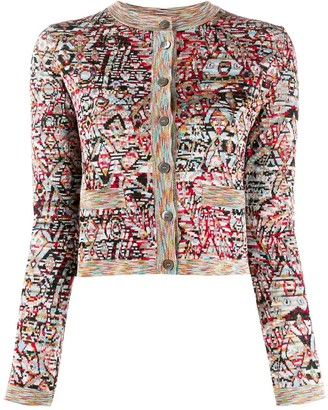 Missoni Abstract Knit Cardigan