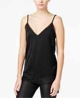 Bar III Layered-Look Lace Camisole, Only at Macy's
