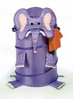 Whitmor 6256-729 Kid's Collapsible Hamper, Elephant