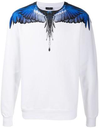 Marcelo Burlon County of Milan Wings-print crew-neck sweatshirt