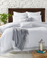 Sunham Edison 10-Pc. Embroidered Comforter Sets