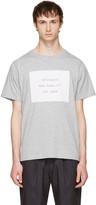Saturdays NYC Grey Established Block T-shirt