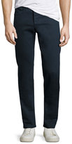 Rag & Bone Standard Issue Fit 2 Mid-Rise Relaxed Slim-Fit Jeans, Coated Navy