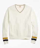 Brooks Brothers Vintage Tennis V-Neck Sweater