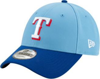New Era MLB 9Forty Adjustable Cap - Texas Rangers - Baby Blue / Royal